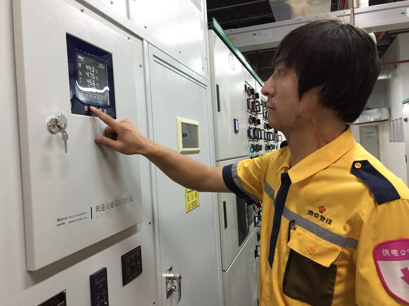 南京地铁光纤测温客户案例